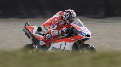 """MotoGP Austria, FP2: la """"zampata"""" di Dovizioso"""