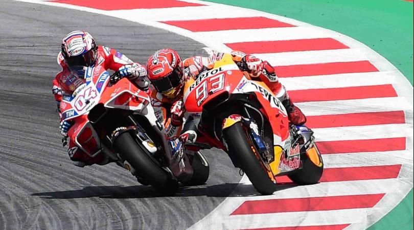 MotoGP Austria: gli scatti più belli di Dovizioso, Marquez e Rossi