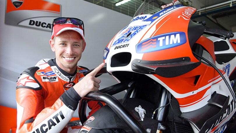 MotoGP Ecco Casey Stoner a Valencia con la Ducati Desmosedici GP
