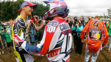 Everts e Carmichael al Motocross delle Nazioni