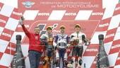 Moto3: Fenati, Antonelli e Bezzecchi dominano Motegi
