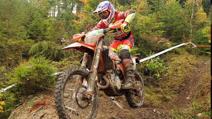 Matteo Pavoni è campione europeo di Enduro