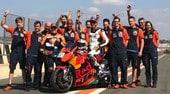 Tony Cairoli a Valencia in sella alla KTM MotoGP