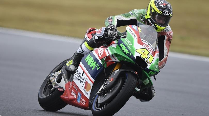 MotoGP Australia: acuto Aprilia, Aleix Espargarò batte Marquez e Dovizioso