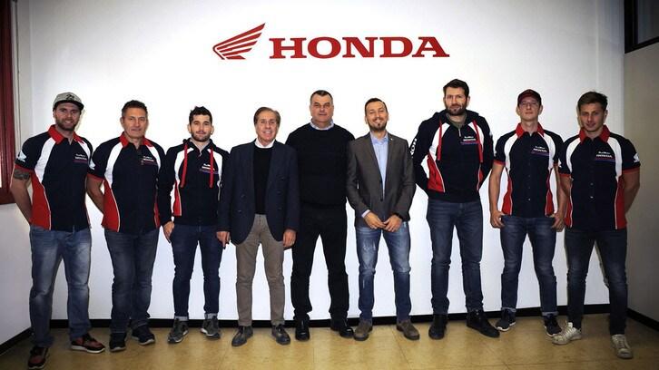 Presentato l'Honda Red Moto Enduro Team