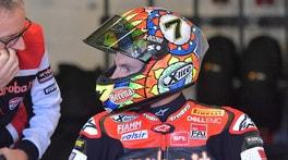 Chaz Davies, problemi al ginocchio: lascia i test di Jerez