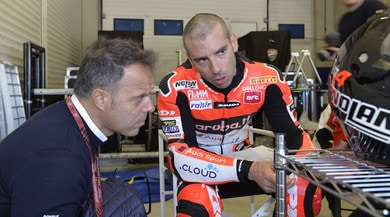 """SBK test Jerez, Melandri: """"Migliorato il feeling sull'anteriore"""""""
