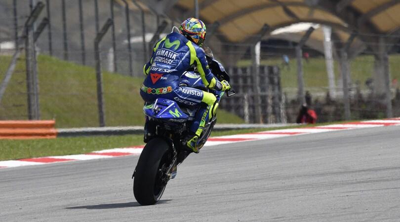 MotoGP Yamaha chiude due giorni di test privati a Sepang