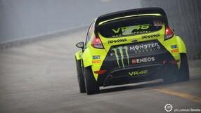Valentino Rossi al Monza Rally Show