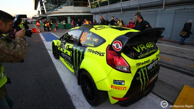 Monza Rally Show - Rossi leader nel Day2