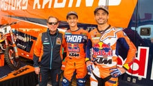 KTM e lo squadrone del Supercross