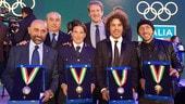 Il CONI premia Cairoli, Fontanesi e Morbidelli
