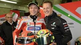 Mazzola (ex-Ferrari): 'Quella volta che Rossi sorprese Schumi…'