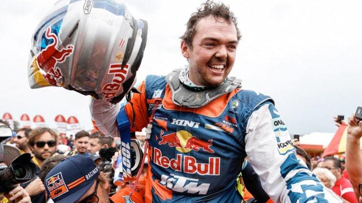Dakar: la vittoria di Matthias Walkner