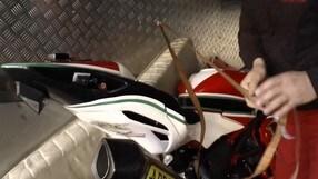 Fabrizio torna a correre nel CIV - VIDEO BACKSTAGE