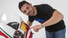 Michel Fabrizio con la MV Agusta del Team Ellan Vannin - FOTO