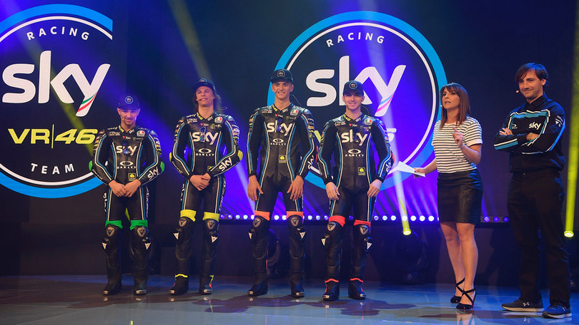 Moto Gp , Valentino Rossi a Sky Racing team:
