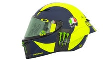MotoGP Qatar: il nuovo casco di Valentino Rossi