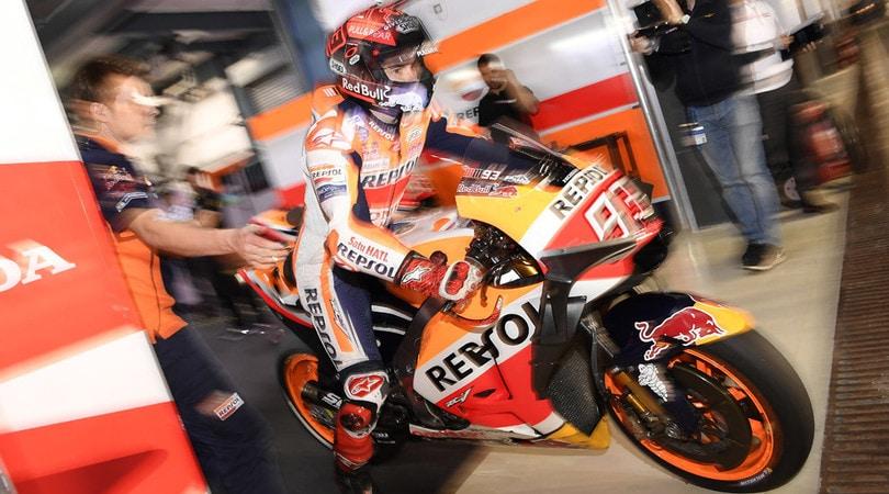 MotoGp in Qatar, Dovizioso vince davanti a Marquez e Rossi