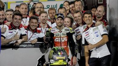 MotoGP Qatar, Crutchlow: 'L'obiettivo era il podio'