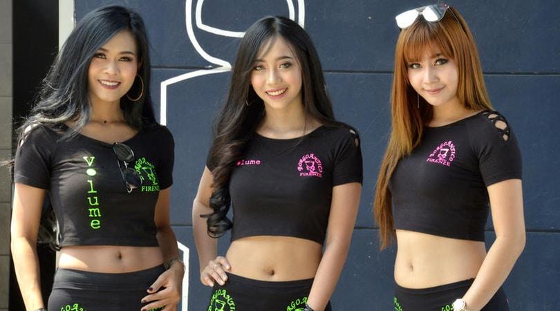 Sexy SBK: le ragazze più belle della Thailandia