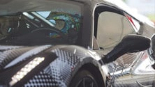 Rossi prova la Ferrari 488 Pista