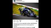 Rossi sui social: 'Gara difficile distrutta da un pilota pericoloso'