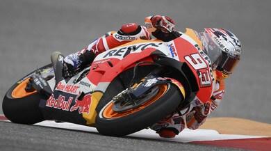 MotoGP USA, qualifiche: Marquez, pole e penalizzazione