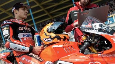 SBK Assen: Rinaldi cade a 233 km/h