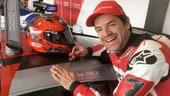 Carlos Checa: podio con l'Audi al Nurburgring