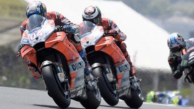 """MotoGP Le Mans, Dovizioso: """"Errore stupido, inaccettabile"""""""