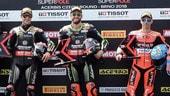 SBK Brno, Tom Sykes in pole