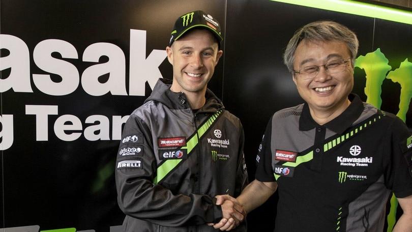 SBK: Rea rinnova con Kawasaki per il 2019