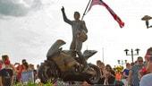 Una statua per Nicky Hayden