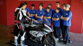 Motosprint The Test di Riccardo Piergentili: BMW HP4 Race