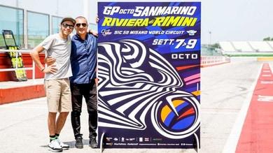 Rossi e Drudi presentano il GP di San Marino
