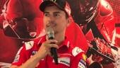 """WDW, Lorenzo: """"Finalmente anche io innamorato di Ducati"""""""