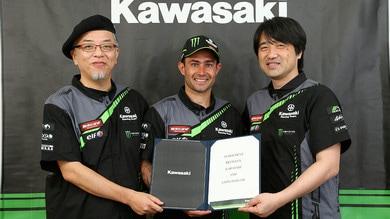 SBK: Leon Haslam ufficiale Kawasaki
