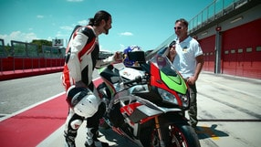 Motosprint The Test di Riccardo Piergentili: Aprilia RSV4 RF Factory Works