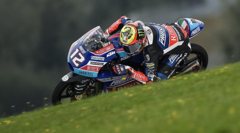 Moto3 - Doppietta italiana al Red Bull Ring: Bezzecchi trionfa al Gp d'Austria