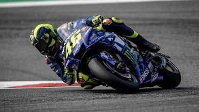 """MotoGP Austria, Rossi: """"La distanza con i primi è grande"""""""