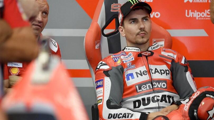 Lorenzo pronto per il test Honda già a Valencia 2018
