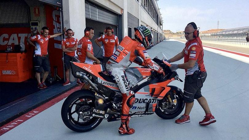 MotoGp, test Aragon: Ducati da record, progressi Yamaha