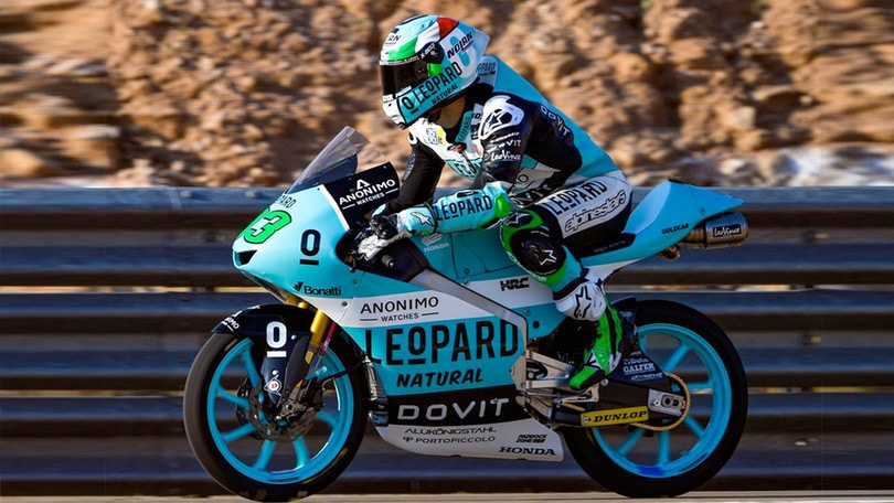 Moto3 - Gp Aragon, Martin in pole