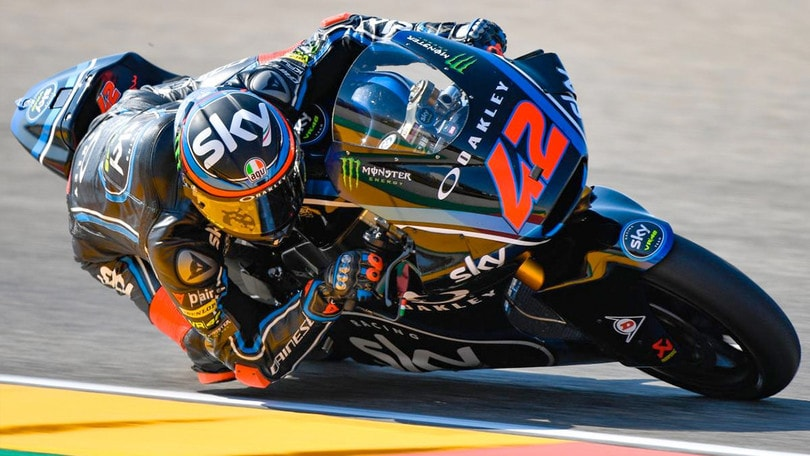 Moto2 - Binder super al Gp di Aragon: Bagnaia allunga in classifica