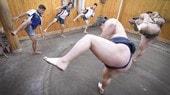 Nakagami, Morbidelli e Martin diventano lottatori di sumo
