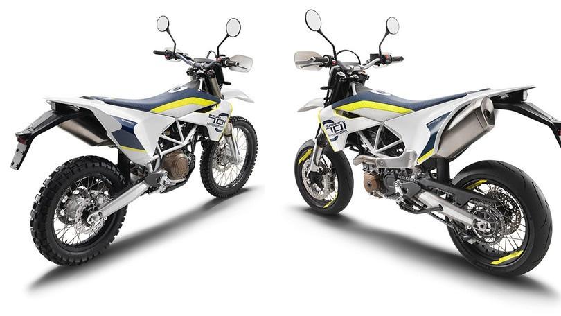 comprando ora presa all'ingrosso ufficiale Husqvarna: arrivano le 701 supermoto e enduro 2019 - Motosprint