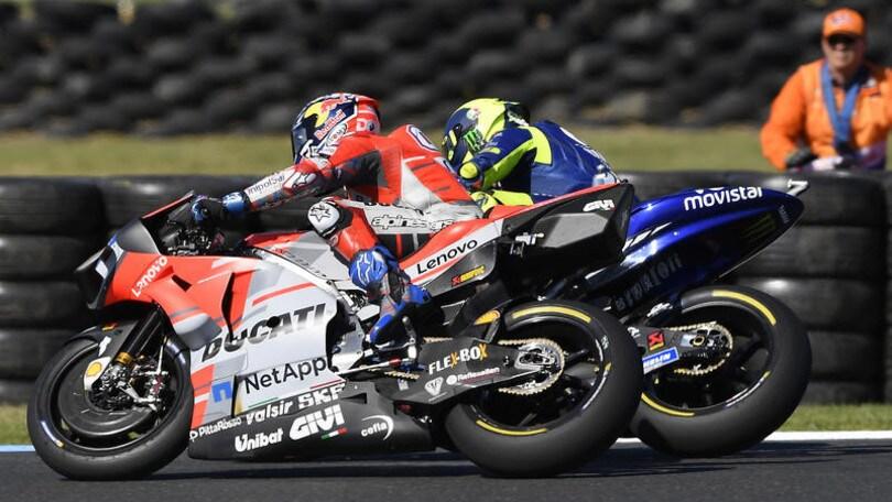 MotoGp, Lorenzo-Dovizioso: scontro sui social. Lo spagnolo: