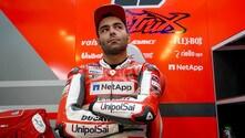 Test Valencia: Petrucci debutta con i colori ufficiali della Ducati - FOTO
