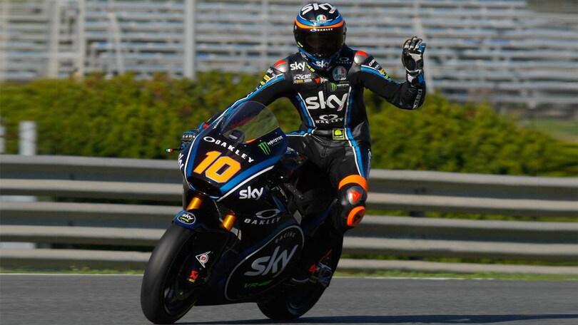 Test Jerez Moto2 day1: Baldassarri è il più veloce